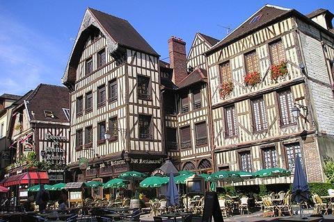 Visite de Troyes
