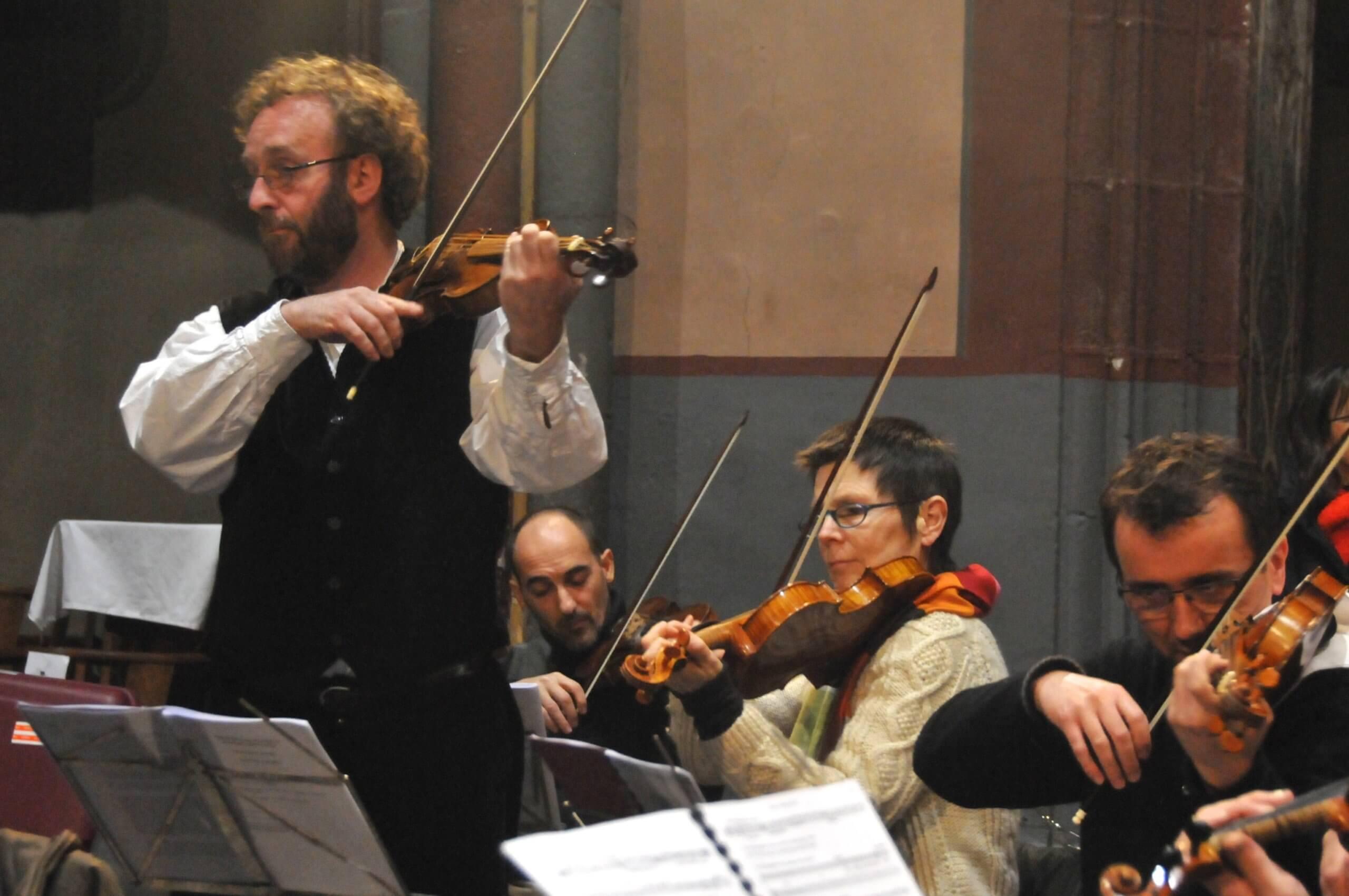 L'Académie Ste Cécile en quatuor